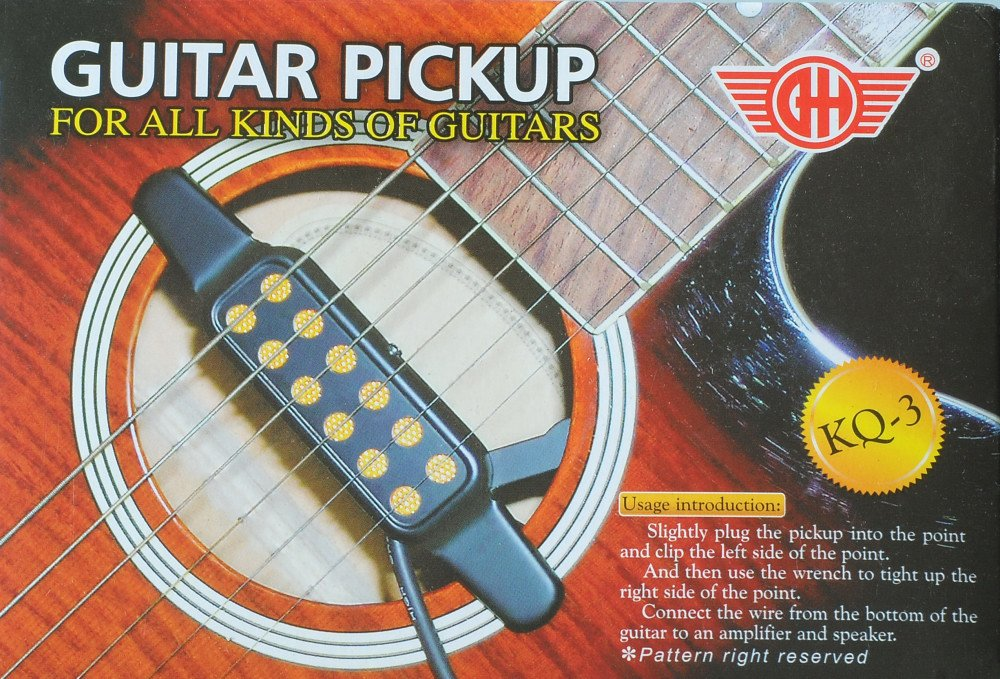 Cherrystone KQ3 - Pastillas para guitarras acústicas: Amazon.es: Instrumentos musicales
