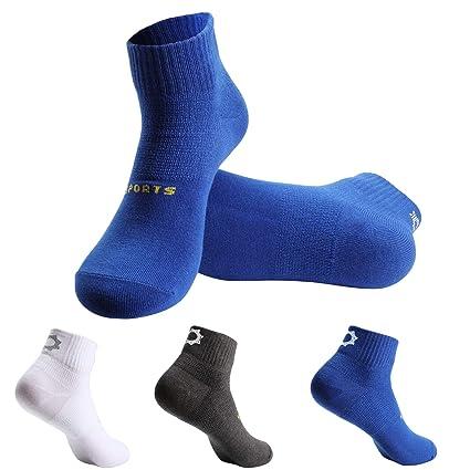 Zeuste Calcetín,3 Pares Calcetines de Deporte Low Cut Pro,Calcetines de Hombre,Calcetines Deportivos para Hombres,Calcetines ...