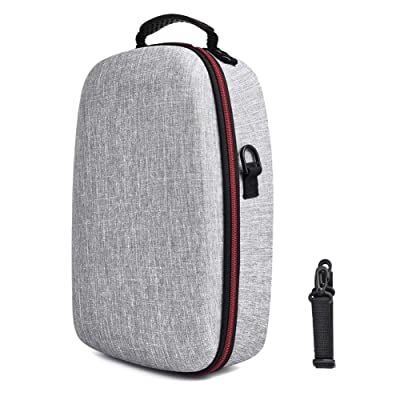 leveraYo Travel Case VR Gaming Headset and Controller Accessories Carrying Storage Bag Protection Bag Premium EVA Material for Oculus Quest Solid Color: Home & Kitchen
