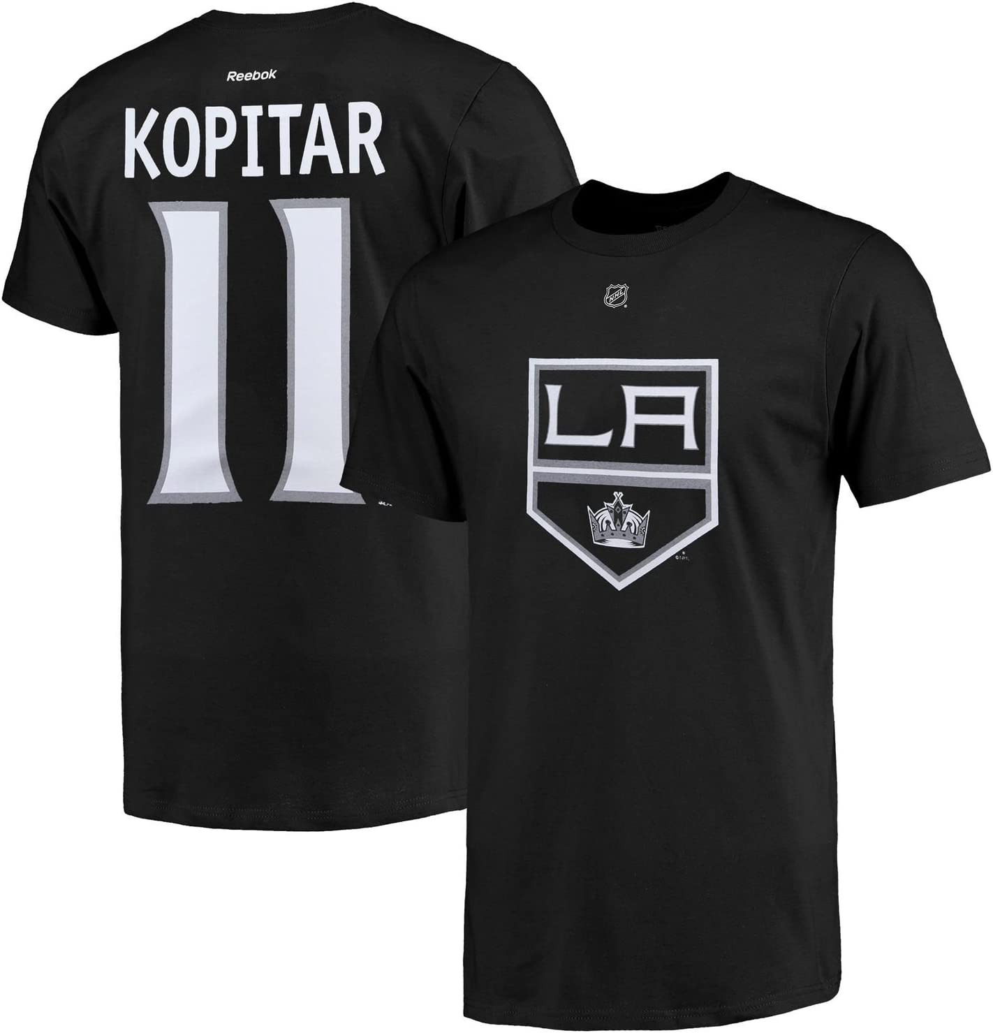 Outerstuff NHL Youth Team Color Player Name and Number Jersey T-Shirt