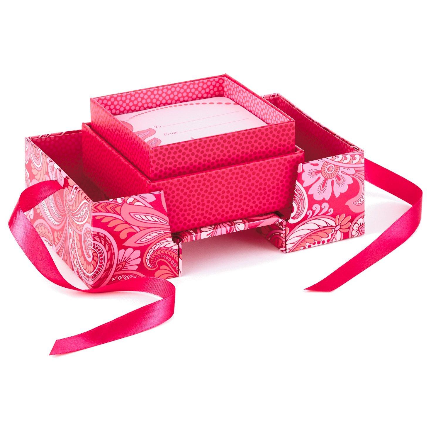 hallmark t card or money holder pink flowers pop