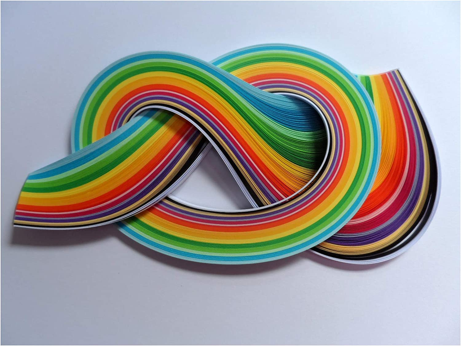 175 strips Quilling Paper 5mm Summer colours
