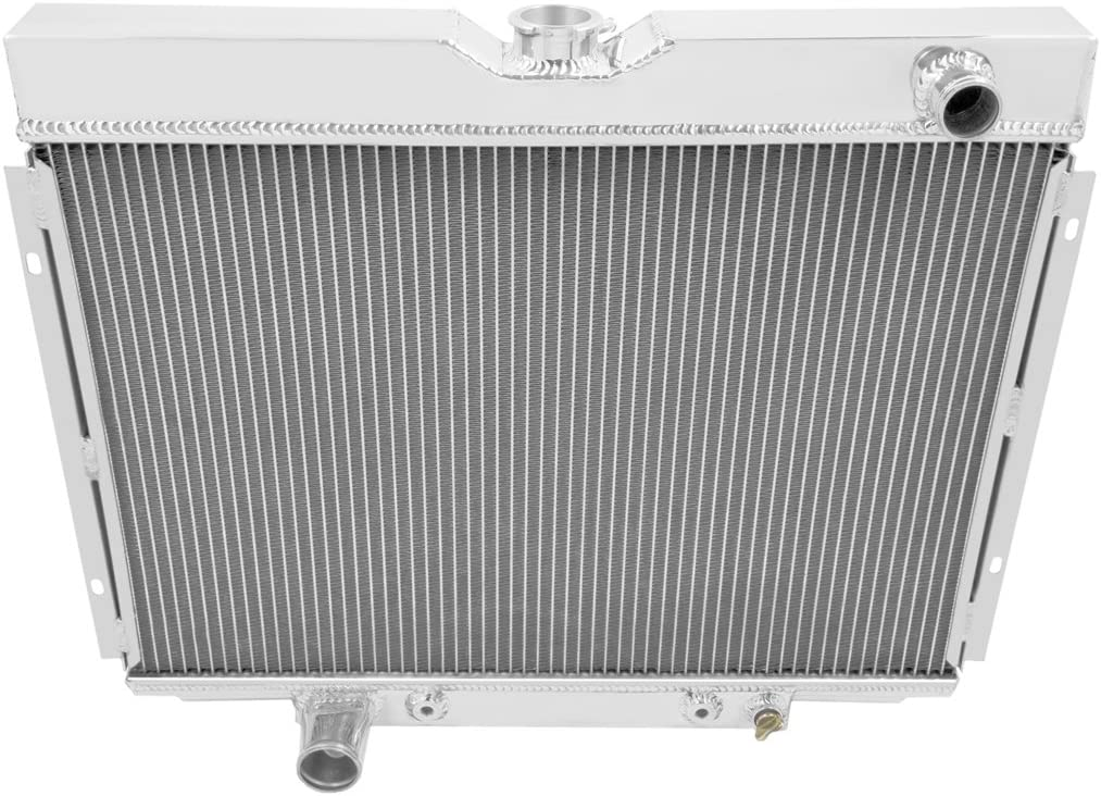 Champion Cooling, 4 Row All Aluminum Radiator for Multiple Ford Models, MC379