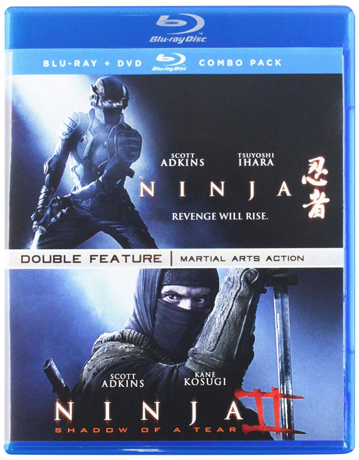 Ninja Double Feature 2 Blu-Ray Edizione: Stati Uniti Italia ...