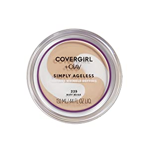 COVERGIRL Simply Ageless Foundation - 225 Buff Beige