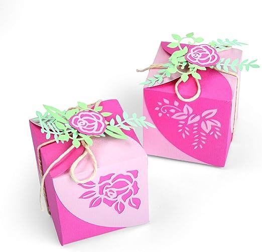 Troquel Sizzix Thinlits Set 8 piezas- Caja de regalo by Lynda ...