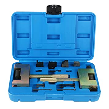 beley diesel engine timing tools timing chains separating and riveting  locking tool kit for mercedes benz w203 w212, timing belt tools - amazon  canada