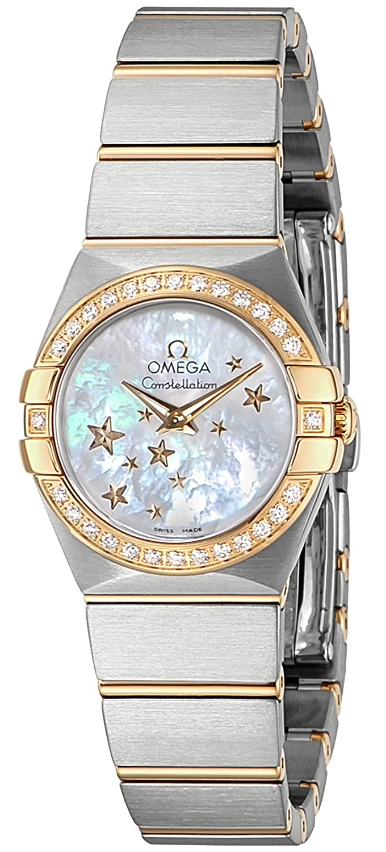 [オメガ]OMEGA 腕時計 コンステレーション ホワイトパール文字盤 K18YG/ステンレスケース ダイヤモンドベゼル 100M防水 123.25.24.60.05.001 レディース 【並行輸入品】 B00KQHFW2S