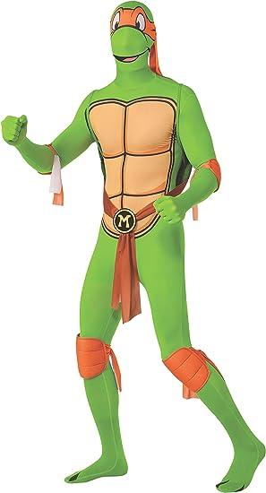 Rubies Disfraz Oficial de la Tortuga Ninja Michelangelo, cómoda ...