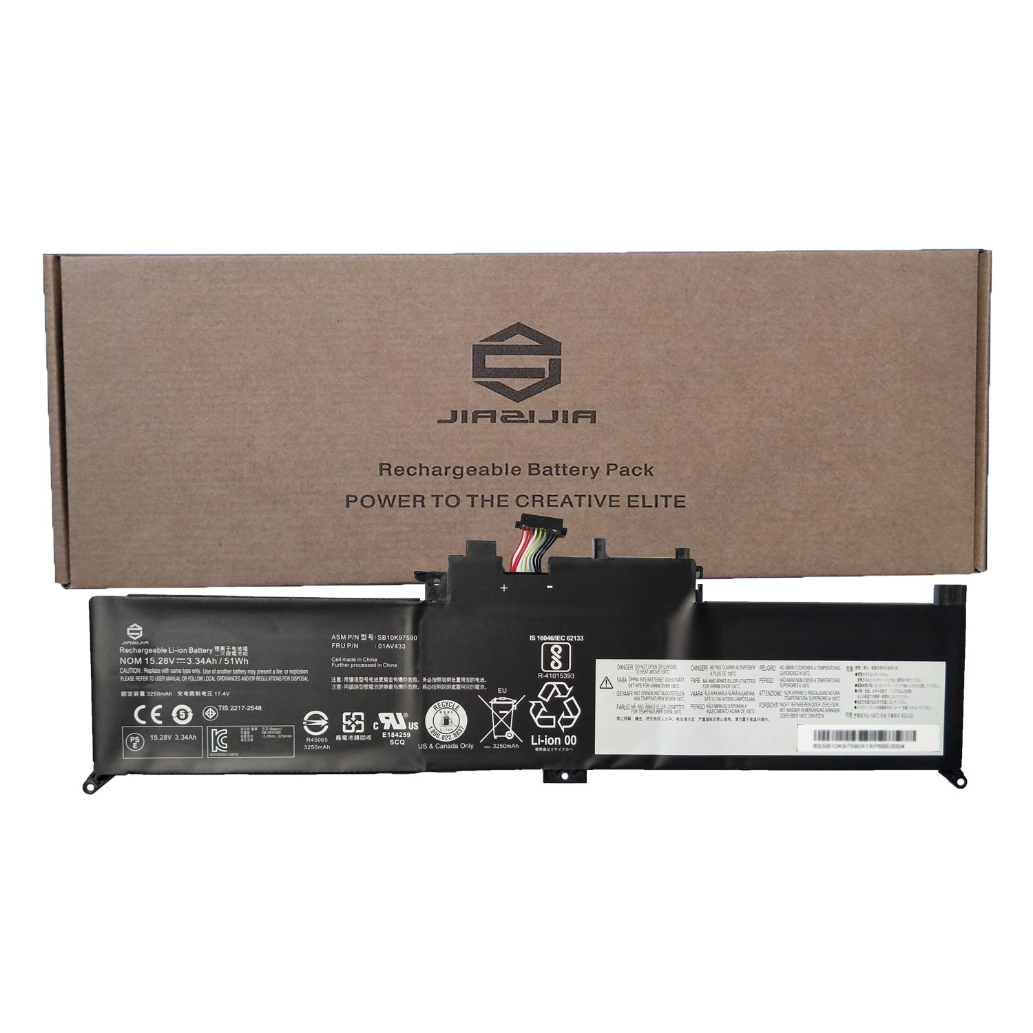 Amazon.com: JIAZIJIA 01AV433 Laptop Battery Replacement for ...