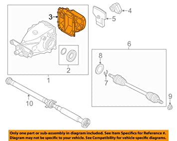 Fantastic Amazon Com Bmw 33 11 7 586 450 Differential Cover Automotive Wiring Digital Resources Caliashwinbiharinl