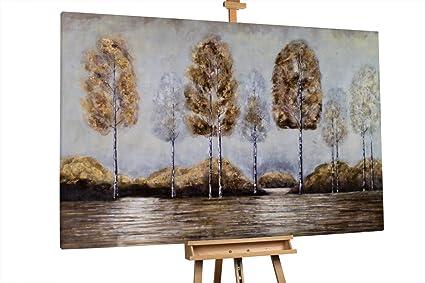 Quadro astratto gold legno olio su tela linea dreams stones oo