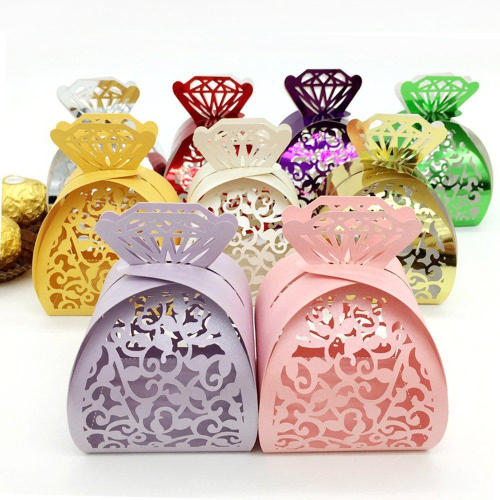 Amazon.com: WOMHOPE® 50 Pcs - Jewelry Lock Vine Hollow Laser Cut ...