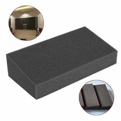 Paneles absorbentes de sonido genéricos de espuma de algodón para estudio de habitación KTV de 7