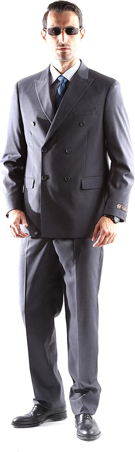 Men's Double Breasted Superior 150s Extra Fine Dress Suit