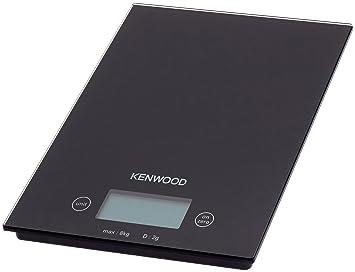 Kenwood BASCULA Cocina DS400 Electronica,MAX.8KG, Vidrio, Negro: Amazon.es: Salud y cuidado personal