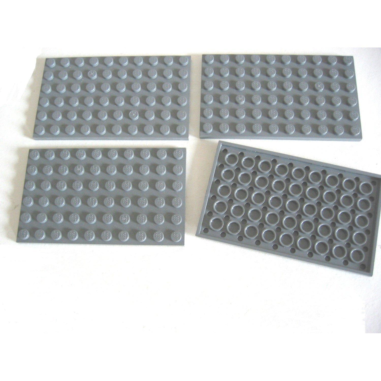 LEGO PART 3028 BLACK PLATE 6 X 12