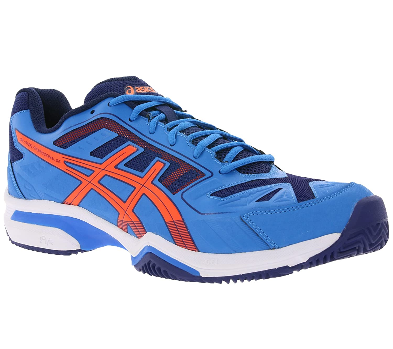 Asics E514N 4250 - Tobillo bajo de Sintético Hombre, Color Azul, Talla 48 EU: Amazon.es: Zapatos y complementos