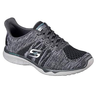Skechers Damen Studio Burst 23388-Gyor Sneaker  Amazon.de  Schuhe ... 13fa92770c