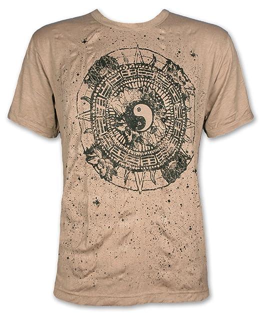 Pure Clothing Camiseta Hombre Yin y Yang Talla M L XL Tao ...