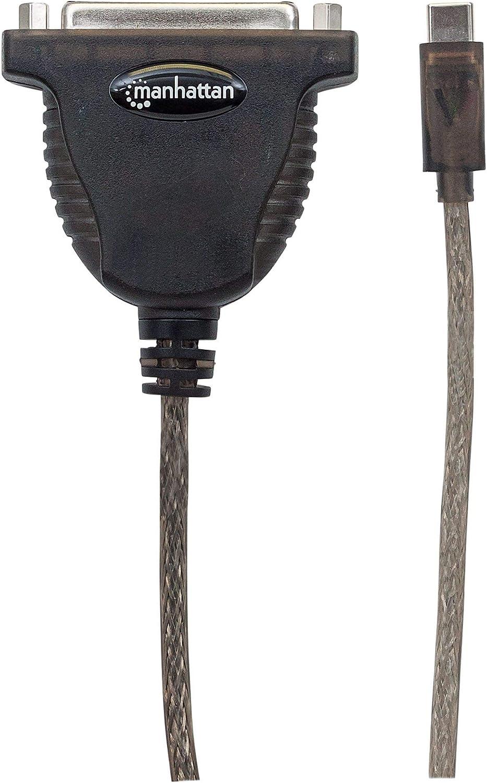 Manhattan 152518 Convertitore Full-Speed USB-C a Stampante Parallela