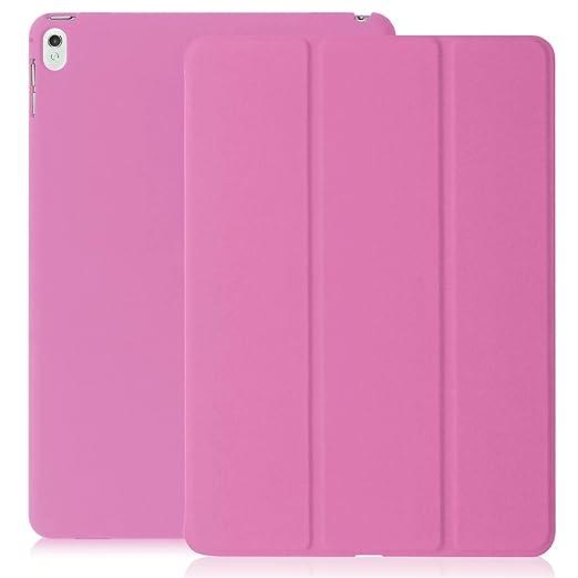 102 opinioni per Cover iPad PRO 9.7- KHOMO® Custodia Rosa Doppia Smart Cover piú Back Cover Dual