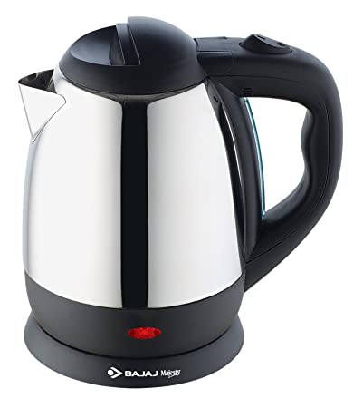Bajaj Majesty KTX 11 1.2-Litre Stainless Steel Kettle