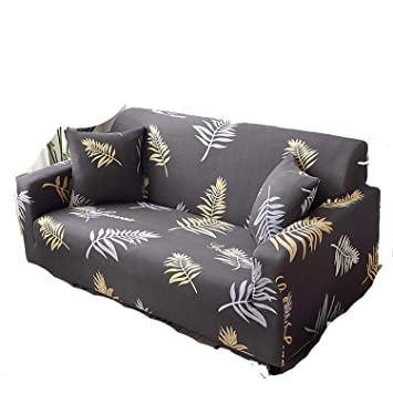 Amazon.com: Sofa Cushion Elastic Cover 1/2/3/4 Seater Couch ...