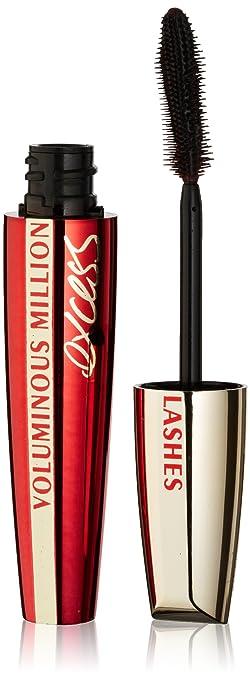 c29e04b19bb L'Oréal Paris Voluminous Million Lashes Excess Washable Mascara, Black,  0.31 fl.