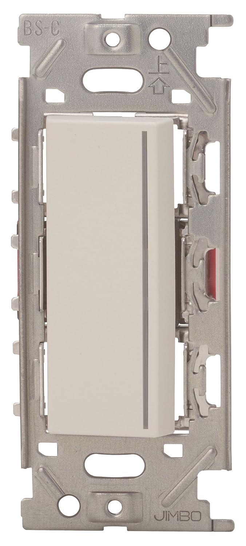 神保電器/NKW3路ガイドチェックランプ付きスイッチセット シングル ピュアホワイト(PW) NKW01013 B076P4XPWF