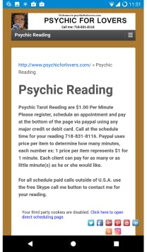 Amazon com: Psychic For Lovers: Appstore for Android
