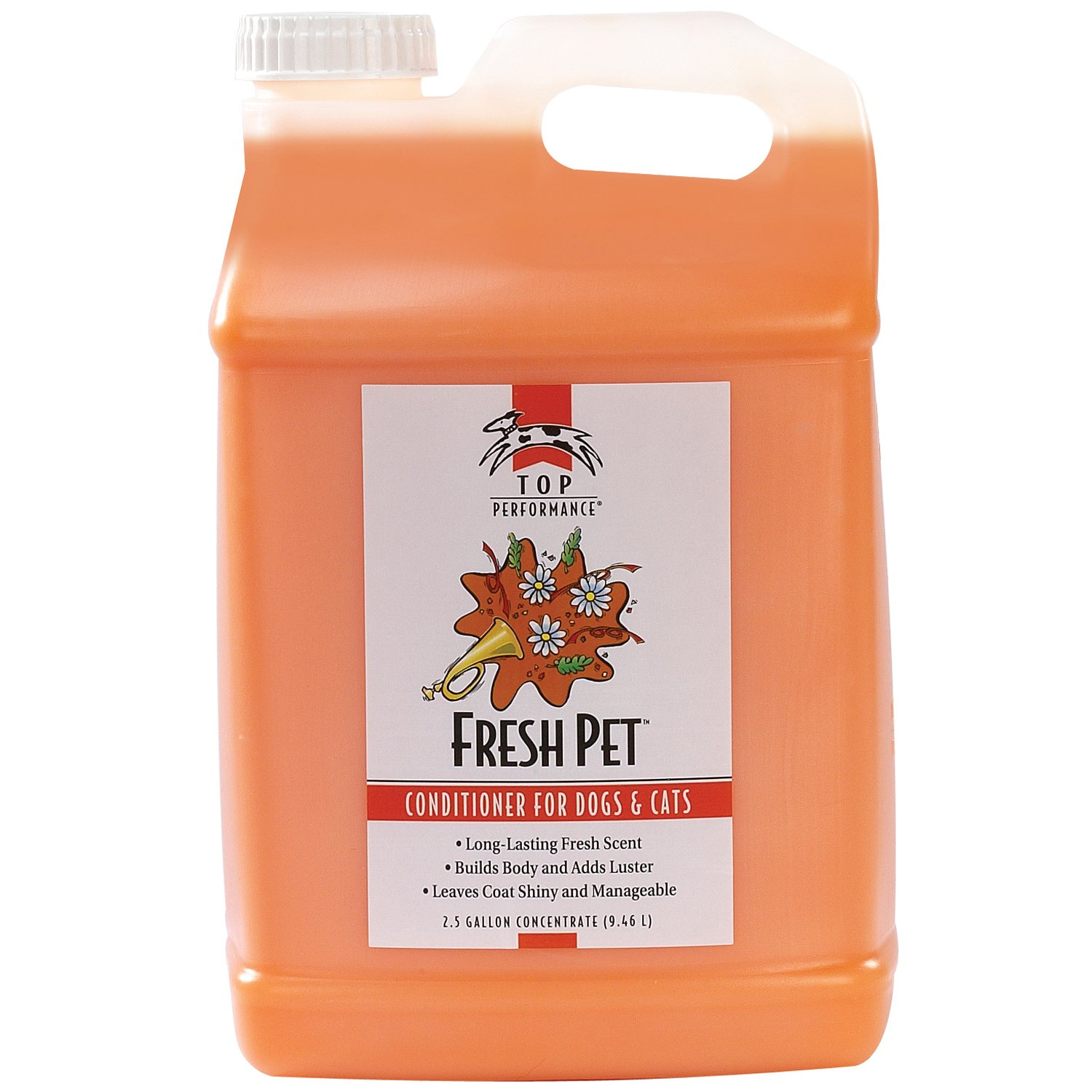 Top Performance Fresh Pet Conditioner, 2-1/2-Gallon by Top Performance
