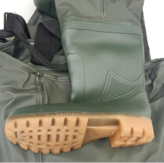 Delta Fishing 5mm Neoprene Waders Ultra Flex Therm Size 43 profile sole Pond Trousers