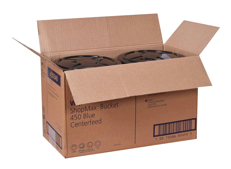 Tork Advanced 450340 450 ShopMax limpiaparabrisas, centerfeed, borrado en seco), 1 capa, altura de 10 cm x 8,5