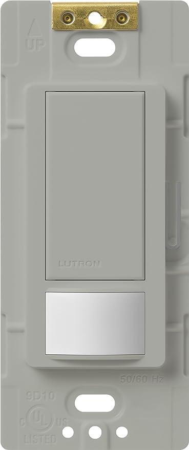 Lutron Occupancy Sensor Switch MS-OPS6M2-DVR-WH  6 Amps//3 amps