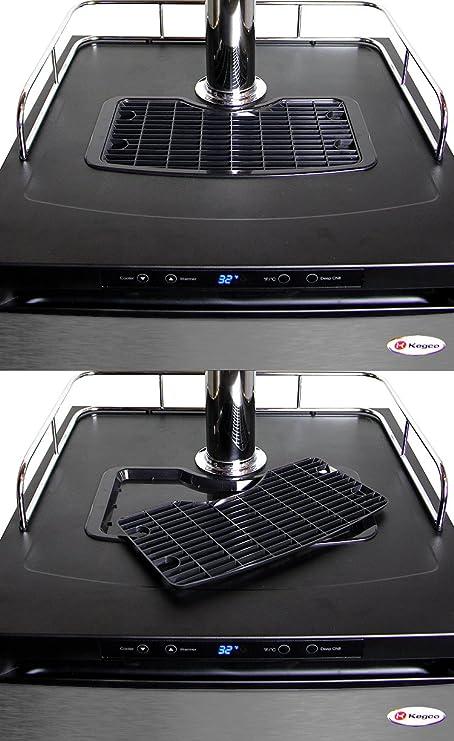 Amazon.com: Kegco Full-Size Digital Homebrew Kegerator Dual Faucet Ball Lock Keg Dispenser Stainless: Kitchen & Dining