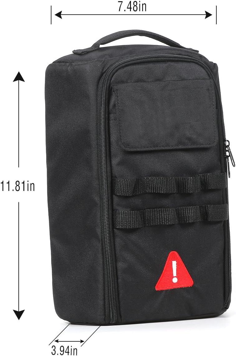 Voodonala Canvas Tailgate Cargo Storage Bag /& Tool Kit Organizer Pockets for 2007-2018 Jeep Wrangler JK JL Unlimited