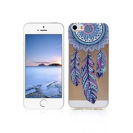 52 opinioni per Cover iPhone 5s Custodia TPU Silicone OuDu Cover iPhone 5 Cassa Gomma Soft