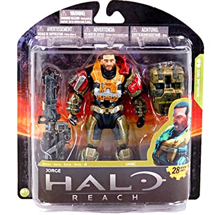ACTION FIGURE McFARLANE TOYS 2012 UNHELMETED HALO REACH SERIES 6 KAT