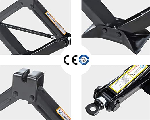KvSrr Heavy Duty Car Scissor Lift Jacks 1.5T Leveling Jacks Auto Emergency Tools /…