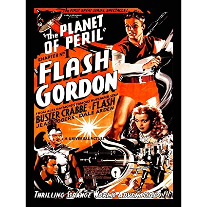 Image result for buster crabbe as flash gordon planet in peril