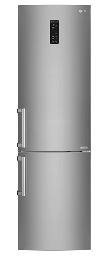 LG GBB60SAYXE nevera y congelador Independiente Acero pulido 343 L ...