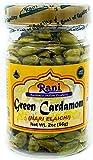 Rani Green Cardamom Pods Spice (Hari Elachi) 2oz (56gms) ~ Natural   Vegan   Gluten Free Ingredients   NON-GMO