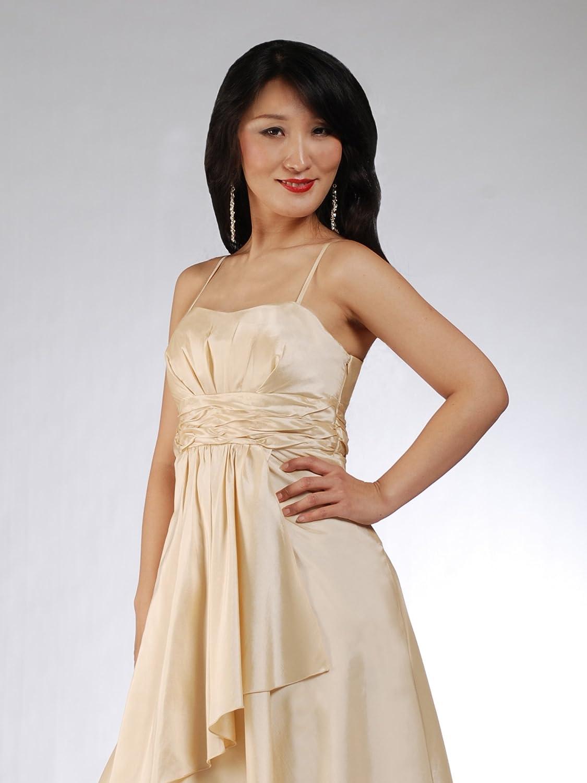 NovaBelle Women's A-Line Plain Sleeveless Dress