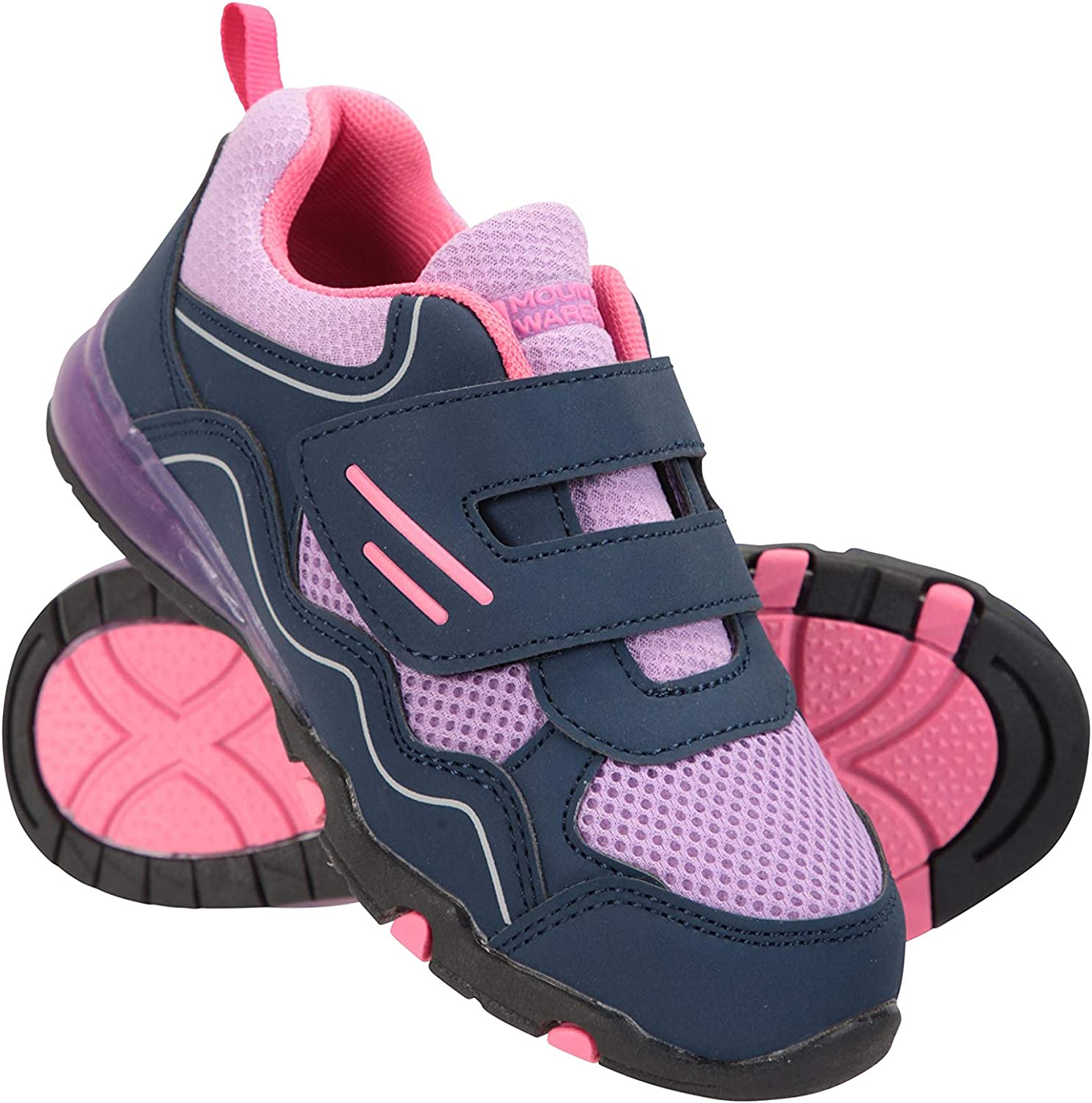 Mountain Warehouse Light Up Kids Hiking Shoes - Summer Walking Shoes