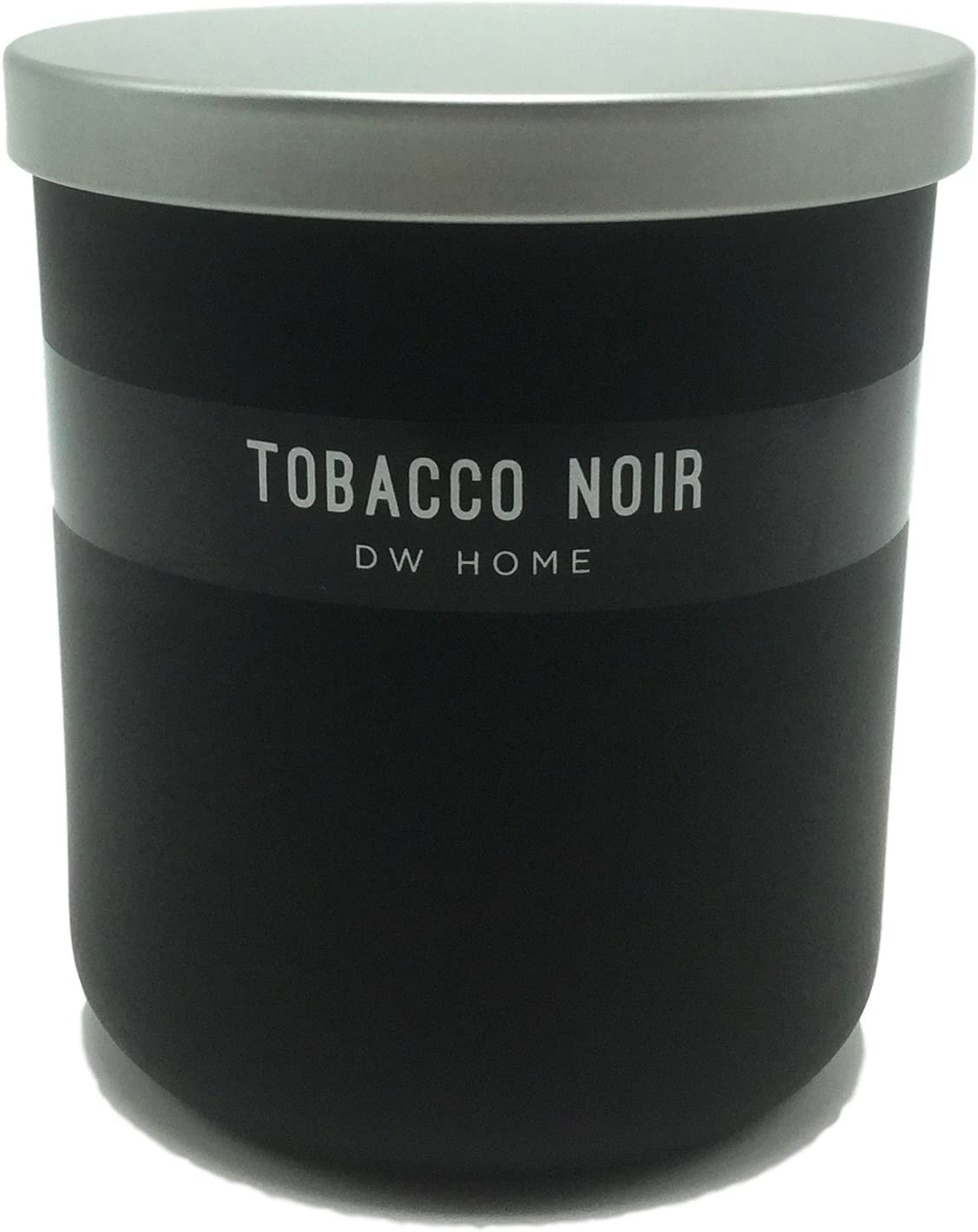 DW Home Tobacco Noir Scented Candle Hand Poured with a Single Wick in Glass Jar 9oz.