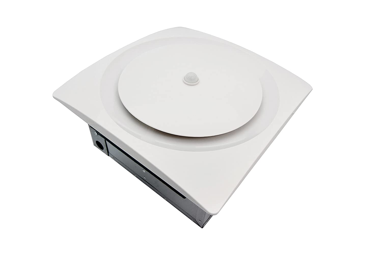 Aero Pure VSF110DCMH-S W Continuous Run Multi-Speed Bath/Laundry Room Fan with Motion and Humidity Sensor, White