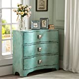 madison park fulton crackle bombe chest blue see below amazoncom stein world furniture anna apothecary