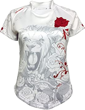 36b6b4f1f36 Olorun England White Roses Ladies Supporters Exofit Rugby Shirt 08-22 (20)