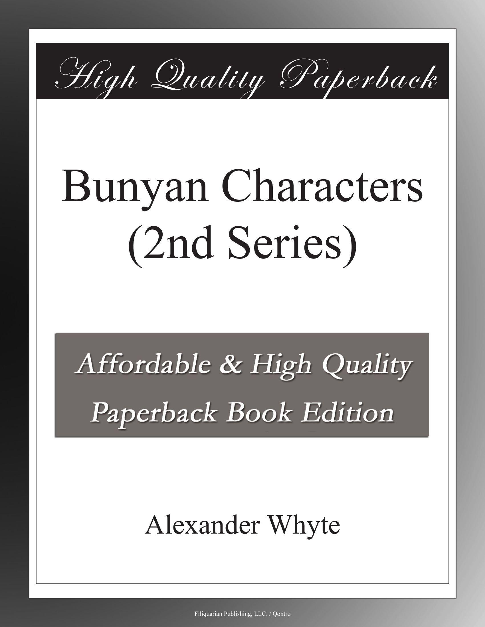 Bunyan Characters (2nd Series) ebook
